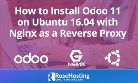 How to Install Odoo 11 on Ubuntu 16.04 with Nginx as a Reverse Proxy