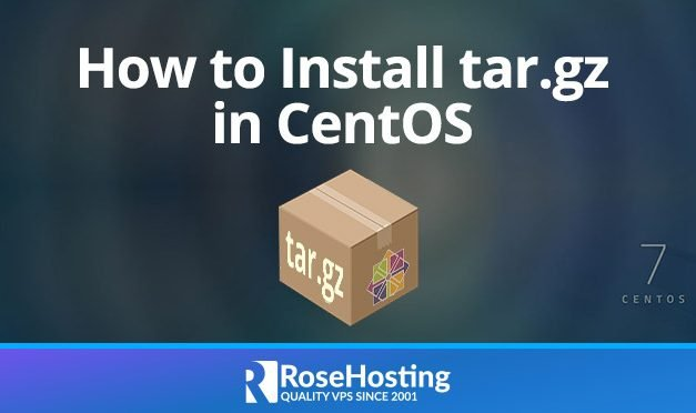 How to Install tar.gz in CentOS