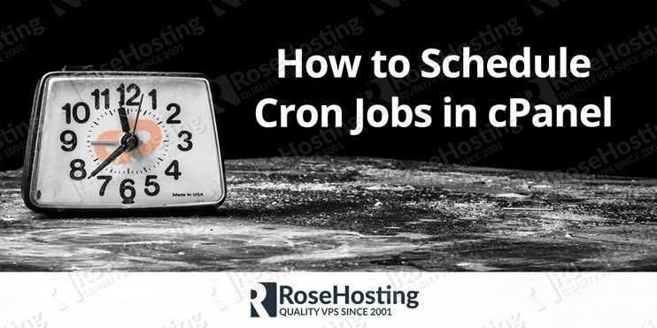 How to Schedule Cron Jobs in cPanel