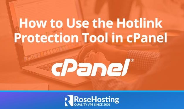 How to use the Hotlink Protection tool in cPanel