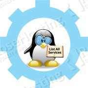linux running services
