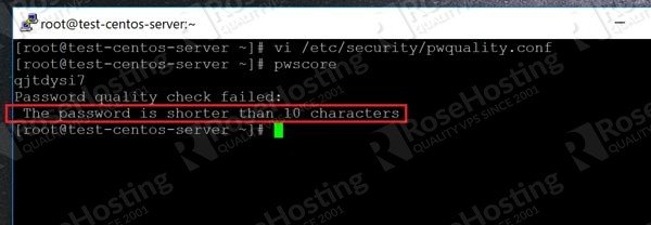 How to Enforce Password Quality Linux