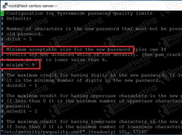 Password Quality in Linux