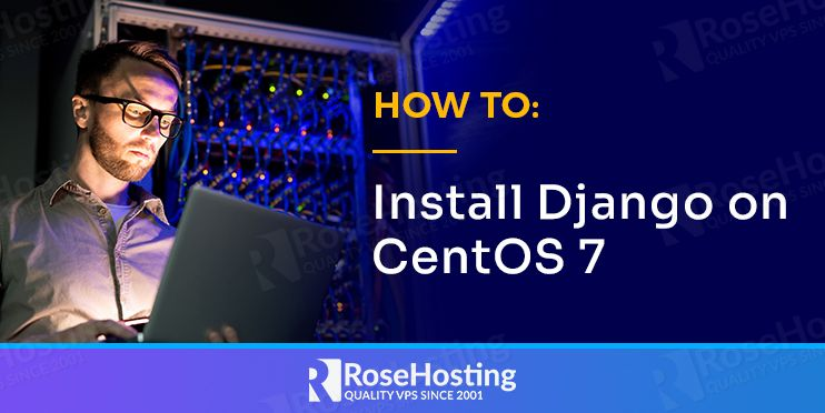 how to install django on centos 7