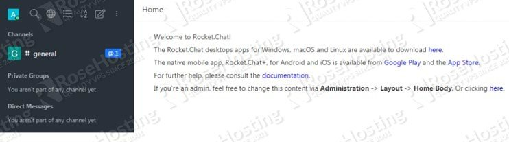 install Rocket.Chat on CentOS 7