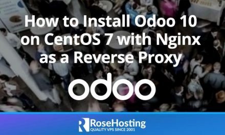 How to Install Odoo 10 on CentOS 7 with Nginx as a Reverse Proxy