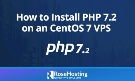 How to Install PHP 7.2 on CentOS 7
