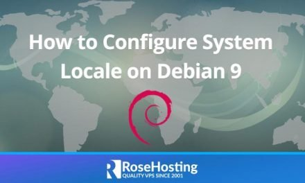 Configure System Locale on Debian 9