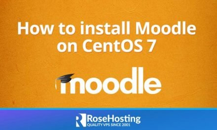 How to install Moodle on CenotOS 7