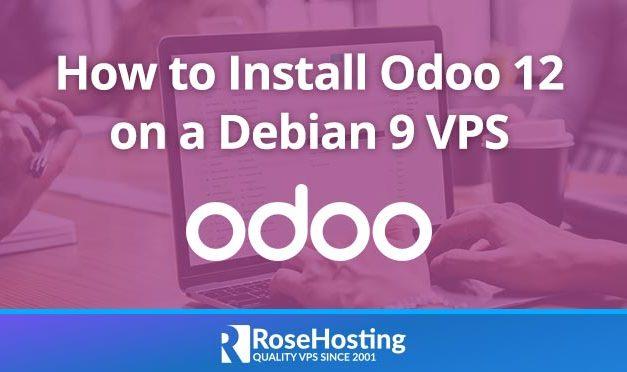 How to install Odoo 12 on Debian 9
