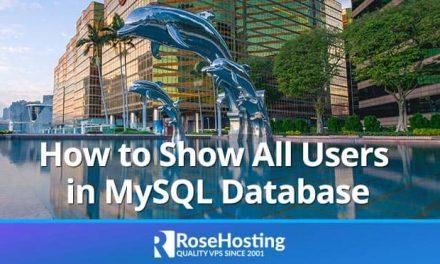 MySQL Show Users | Show All Users in MySQL