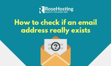 Check if an Email Exists