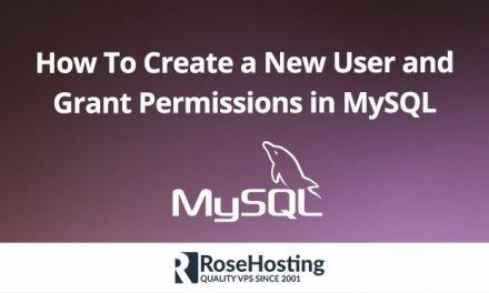 MySQL Create User | Create a New MySQL User and Grant Permissions
