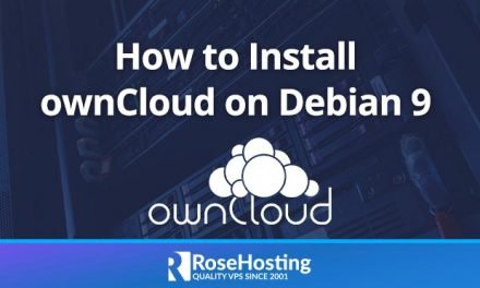 How to Install ownCloud on Debian 9