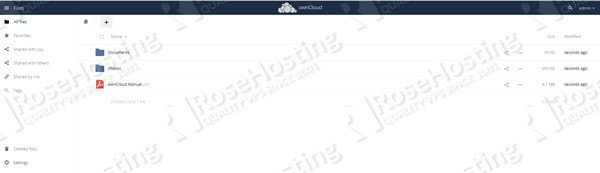 install owncloud on debian 9