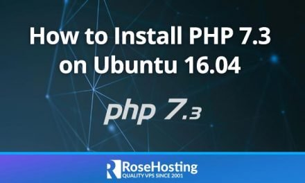 How to Install PHP 7.3 on Ubuntu 16.04