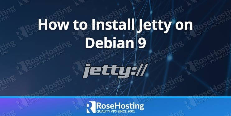 Install Jetty on Debian 9