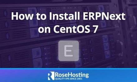 How To Install ERPNext on CentOS 7