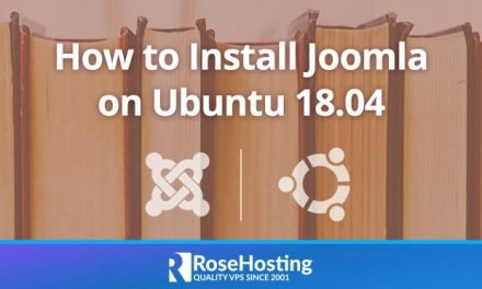 How to Install Joomla on Ubuntu 18.04