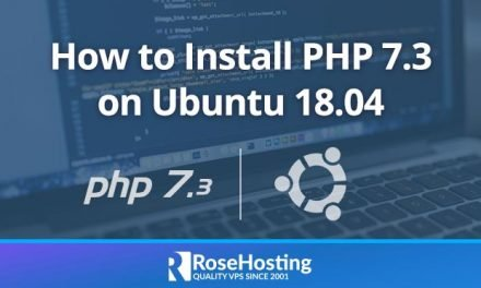 How to Install PHP 7.3 on Ubuntu 18.04