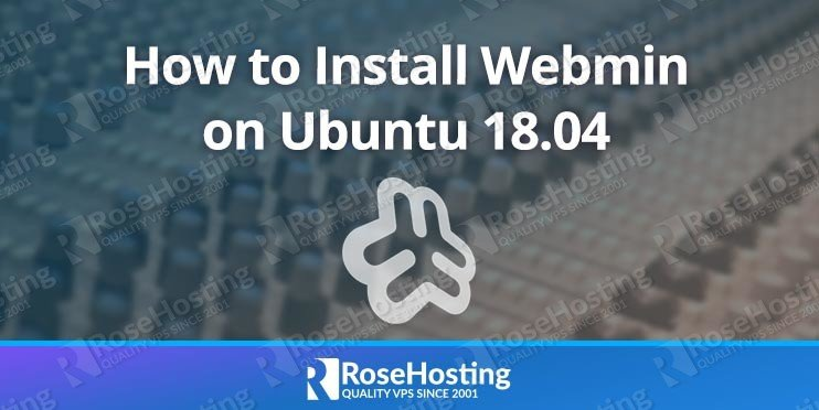 Install Webmin on Ubuntu