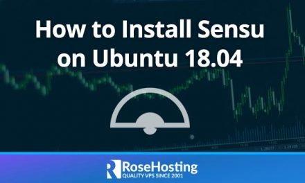 How To Install Sensu on Ubuntu 18.04