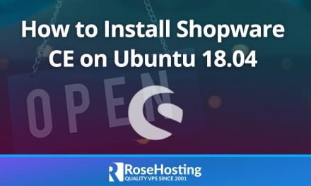 How to Install Shopware CE on Ubuntu 18.04