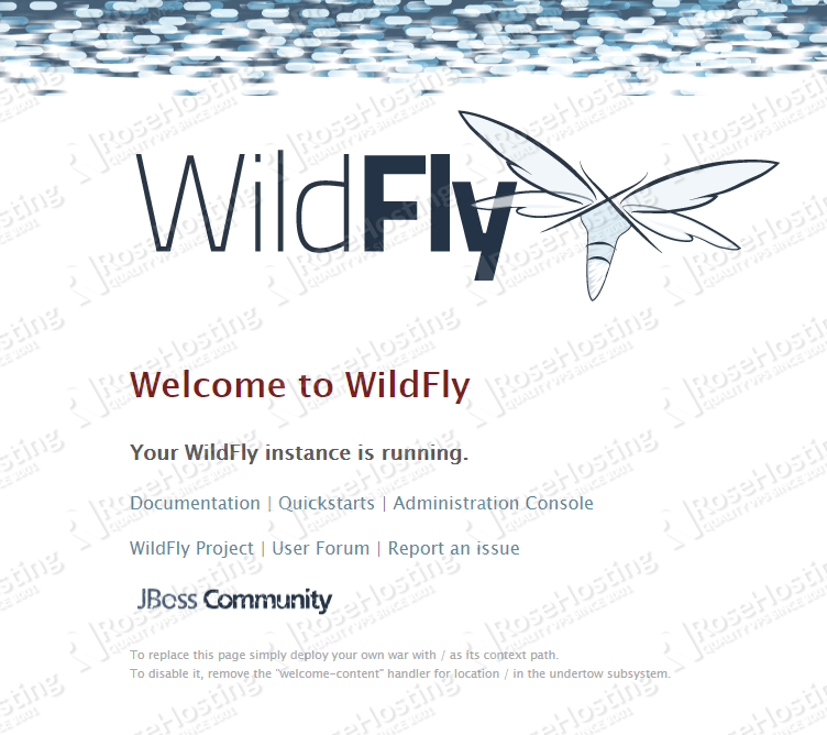 WildFly Installed on Ubuntu 18.04 VPS