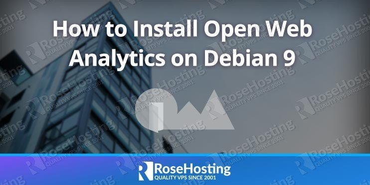 How to Install Open Web Analytics on Debian 9