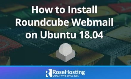 How to Install Roundcube Webmail on Ubuntu 18.04