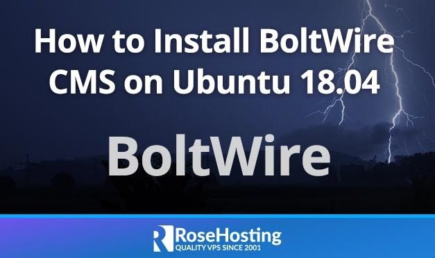 How to Install BoltWire CMS on Ubuntu 18.04