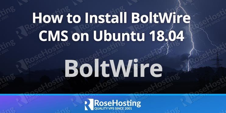 Install BoltWire on Ubuntu 18