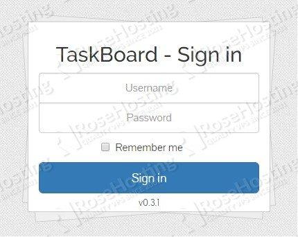 Installing TaskBoard on Ubuntu 18.04