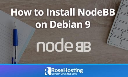 How to Install NodeBB on Debian 9