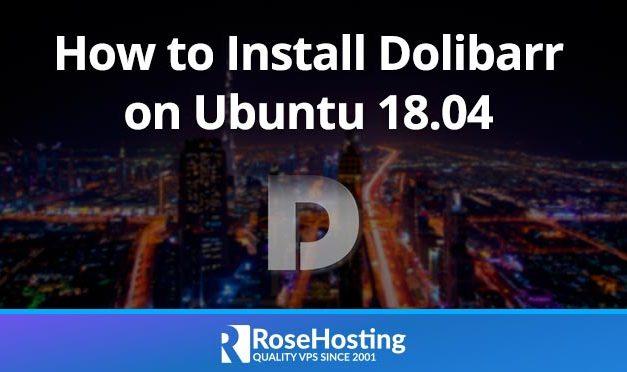 Install Dolibarr on Ubuntu 18.04