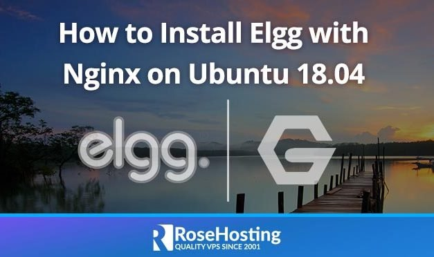 How to Install Elgg with Nginx on Ubuntu 18.04