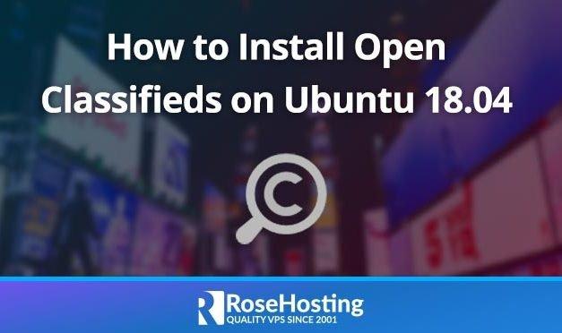 How to Install Open Classifieds on Ubuntu 18.04