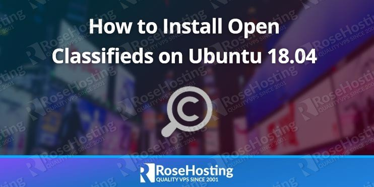 How to Install Open Classifieds on Ubuntu 18.04