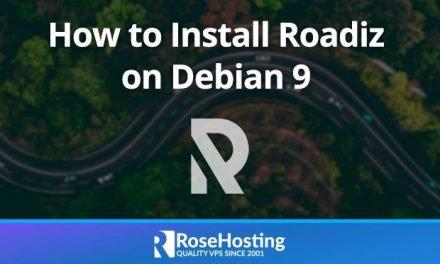 How to Install Roadiz CMS on Debian 9