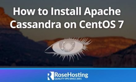 How to Install Apache Cassandra on CentOS 7