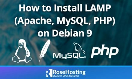 How to Install LAMP (Linux, Apache, MySQL, PHP) on Debian 9