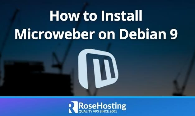 How to Install Microweber on Debian 9