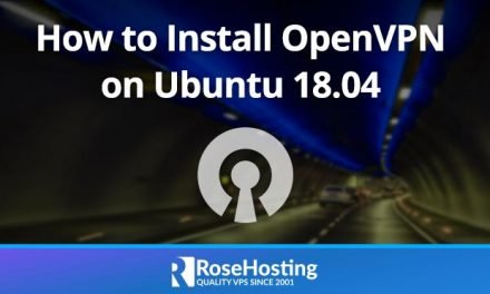 How to Install OpenVPN on Ubuntu 18.04