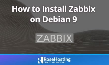 How to Install Zabbix On Debian 9