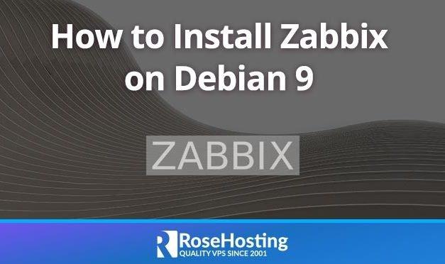 How to Install Zabbix On Debian 9