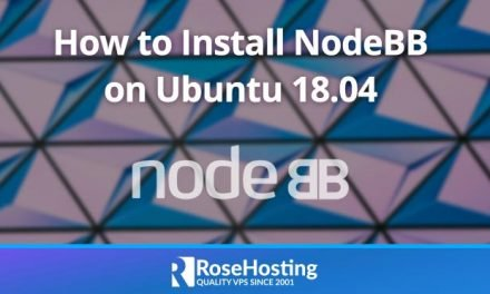 How to Install NodeBB on Ubuntu 18.04