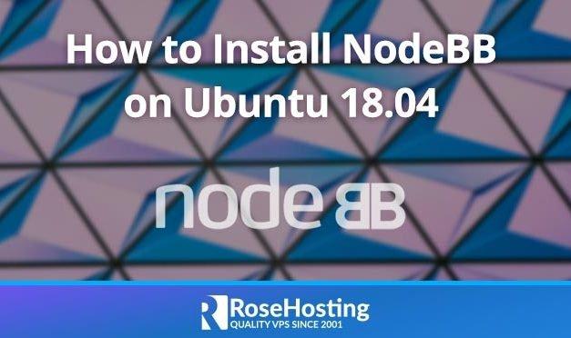 How to Install NodeBB on Ubuntu 18.04