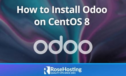 How to Install Odoo 13 on CentOS 8