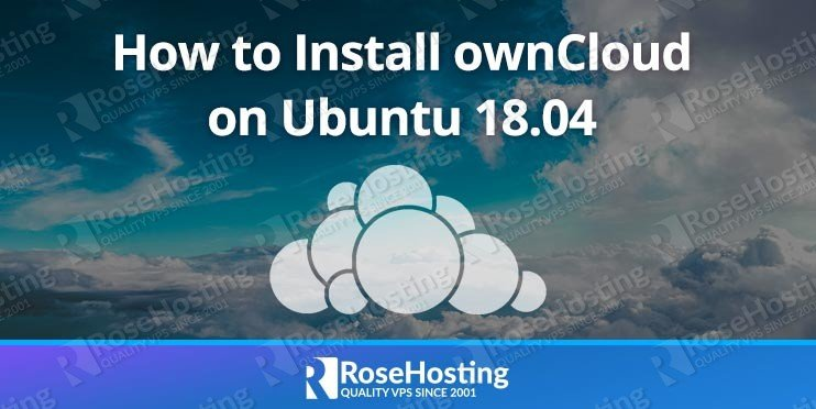 How to Install ownCloud on Ubuntu 18.04