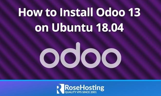 How to Install Odoo 13 on Ubuntu 18.04